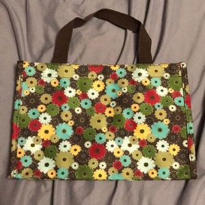 Thirty-One Gifts Floral Print Multi-Color Tote